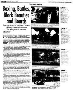Syracuse Post Standard, May 25, 2005, Page 287