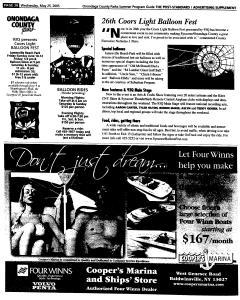 Syracuse Post Standard, May 25, 2005, Page 418