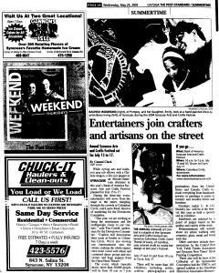 Syracuse Post Standard, May 25, 2005, Page 553