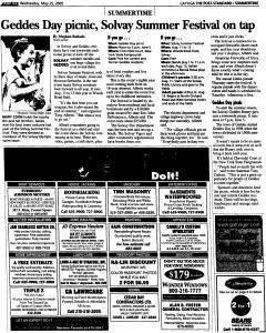 Syracuse Post Standard, May 25, 2005, Page 586
