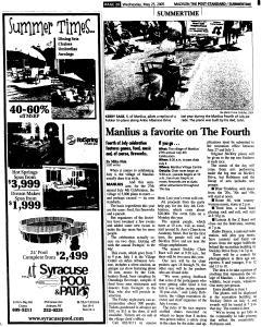 Syracuse Post Standard, May 25, 2005, Page 608