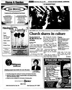 Syracuse Post Standard, May 25, 2005, Page 629