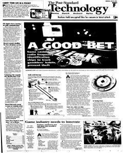 Syracuse Post Standard, May 25, 2005, Page 45