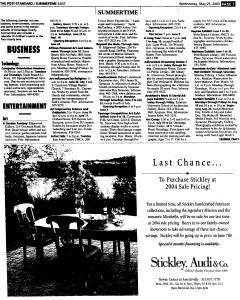 Syracuse Post Standard, May 25, 2005, Page 71