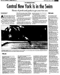Syracuse Post Standard, May 25, 2005, Page 85