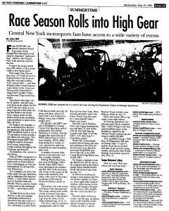Syracuse Post Standard, May 25, 2005, Page 112