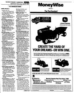 Syracuse Post Standard, May 25, 2005, Page 168
