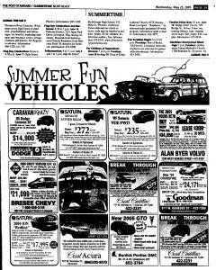 Syracuse Post Standard, May 25, 2005, Page 172