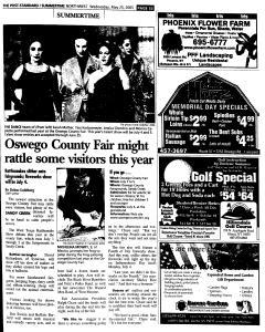 Syracuse Post Standard, May 25, 2005, Page 274