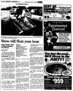 Syracuse Post Standard, May 25, 2005, Page 365