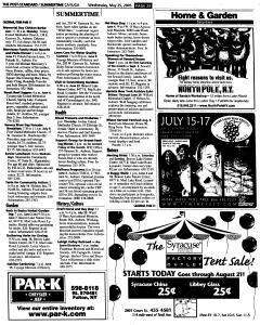 Syracuse Post Standard, May 25, 2005, Page 554