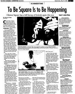 Syracuse Post Standard, May 25, 2005, Page 605