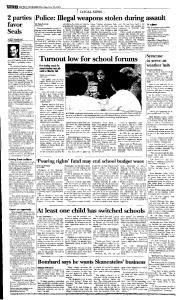 Syracuse Post Standard, May 26, 2005, Page 18