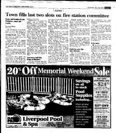 Syracuse Post Standard, May 26, 2005, Page 241