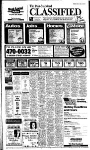 Syracuse Post Standard, May 26, 2005, Page 47