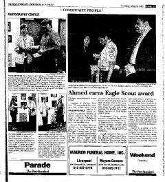 Syracuse Post Standard, May 26, 2005, Page 151