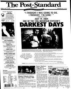 Syracuse Post Standard, May 29, 2005, Page 2