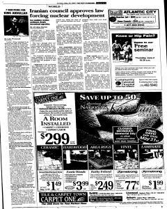Syracuse Post Standard, May 29, 2005, Page 10