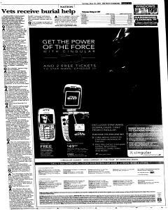Syracuse Post Standard, May 29, 2005, Page 18