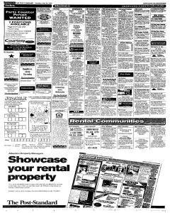 Syracuse Post Standard, May 30, 2005, Page 87