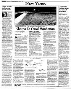 Syracuse Post Standard, May 30, 2005, Page 195