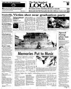 Syracuse Post Standard, May 30, 2005, Page 21