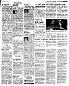 Syracuse Post Standard, May 30, 2005, Page 29