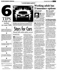 Syracuse Post Standard, May 30, 2005, Page 97