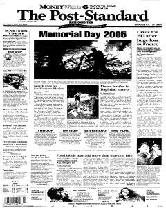 Syracuse Post Standard, May 30, 2005, Page 153