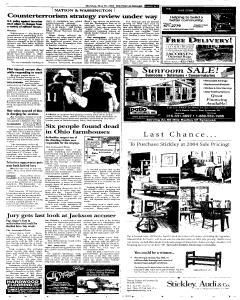 Syracuse Post Standard, May 30, 2005, Page 165