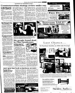 Syracuse Post Standard, May 30, 2005, Page 14