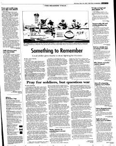 Syracuse Post Standard, May 30, 2005, Page 18