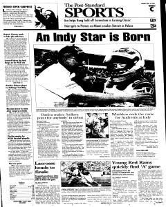 Syracuse Post Standard, May 30, 2005, Page 34