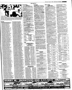 Syracuse Post Standard, May 30, 2005, Page 50