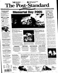 Syracuse Post Standard, May 30, 2005, Page 154