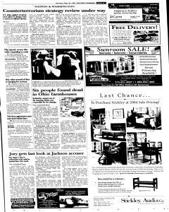 Syracuse Post Standard, May 30, 2005, Page 166