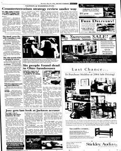 Syracuse Post Standard, May 30, 2005, Page 198