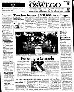 Syracuse Post Standard, May 30, 2005, Page 206