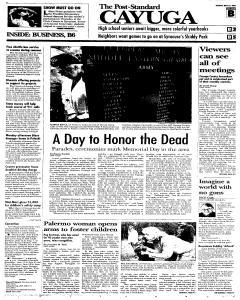 Syracuse Post Standard, May 31, 2005, Page 111
