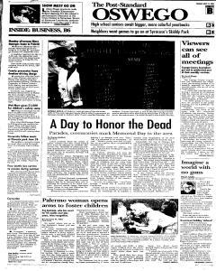 Syracuse Post Standard, May 31, 2005, Page 183