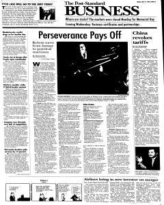Syracuse Post Standard, May 31, 2005, Page 194