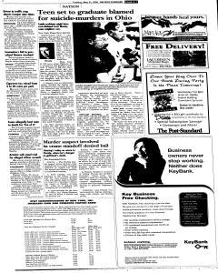 Syracuse Post Standard, May 31, 2005, Page 100
