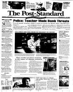 Syracuse Post Standard, June 02, 2005, Page 1
