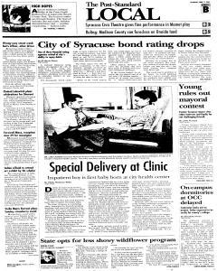 Syracuse Post Standard, June 11, 2005, Page 18