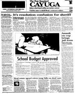 Syracuse Post Standard, June 15, 2005, Page 129