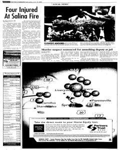 Syracuse Post Standard, June 15, 2005, Page 36