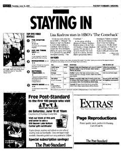 Syracuse Post Standard, June 16, 2005, Page 173