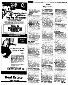 Syracuse Post Standard, June 16, 2005, Page 217