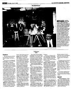 Syracuse Post Standard, June 16, 2005, Page 227