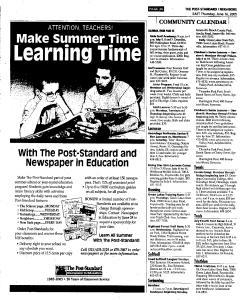 Syracuse Post Standard, June 16, 2005, Page 251